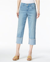 Style&Co. Style & Co Cuffed Capri Jeans, Only at Macy's