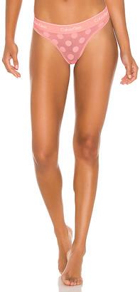 Calvin Klein Underwear Modern Cotton Dot Thong