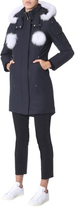 Moose Knuckles Hooded Zipped Coat