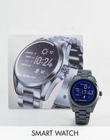 Michael Kors Mkt5006 Navy Tone Smart Watch