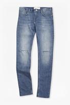 Rip And Repair Skinny Jeans