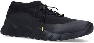 Fendi Knitted Low-Top Sock Sneakers