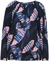 Studio Plus Size Feather printed blouse