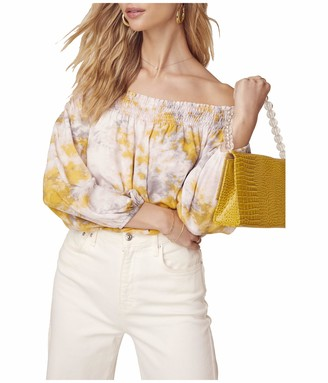 ASTR the Label Women's Long Sleeve Off The Shoulder in A Daze TOP