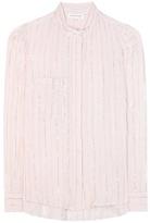 Etoile Isabel Marant Isabel Marant, Étoile Samson Metallic-striped Cotton Shirt