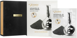 Premier Luxury Skin Care Premier Luxury Skincare 12Pc Charcoal Detox Advanced Treatment 3D Mask