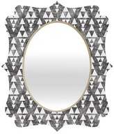 DENY Designs Stacked Quatrefoil Mirror