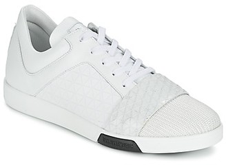 Bikkembergs OLYMPIAN LEATHER men's Shoes (Trainers) in White