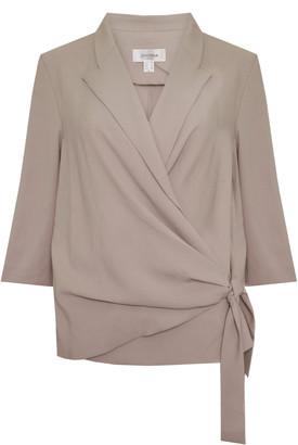 Jovonna London Off White Laelia Jacket - S | off white - Off white