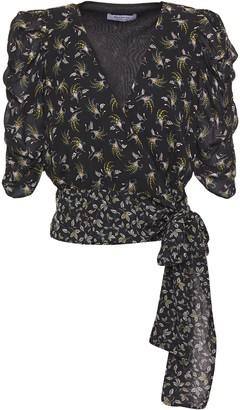 Bailey 44 Lillian Printed Georgette Wrap Top