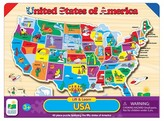 The Learning Journey Lift & Learn USA Map Puzzle 50pc