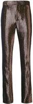 Haider Ackermann striped trousers - women - Wool/Silk/Polyester/Polyamide - 36