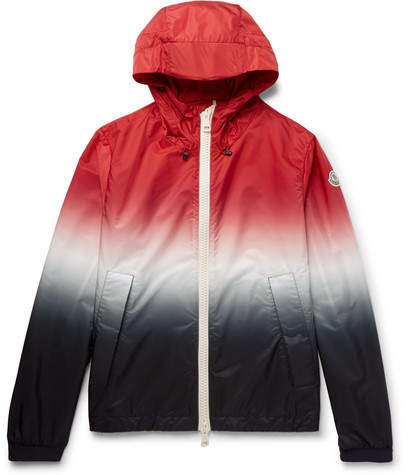 Moncler Maribeu Dégradé Nylon Hooded Jacket