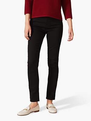 Phase Eight Aida Stay Jeans, Black