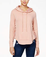 Self Esteem Juniors' Lace-Up Hoodie