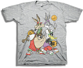 Freeze Looney Tunes Heather Gray Basketball Tee - Boys