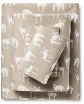 Eddie Bauer Buckhead Ridge Flannel Sheet Set
