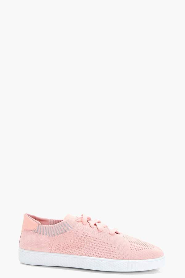 boohoo Knit Sock Style Trainers