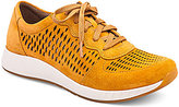 Dansko Charlie Suede Stain Resistant Perforated Lace Up Sneakers