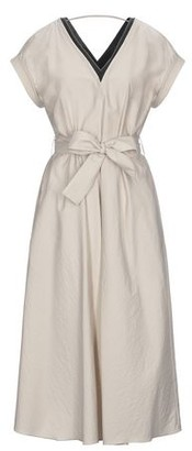 Brunello Cucinelli 3/4 length dress