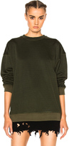 YEEZY Season 3 Plaited Jersey Crewneck Sweatshirt