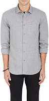 John Varvatos Men's Griffin Cotton-Linen Slim-Fit Shirt
