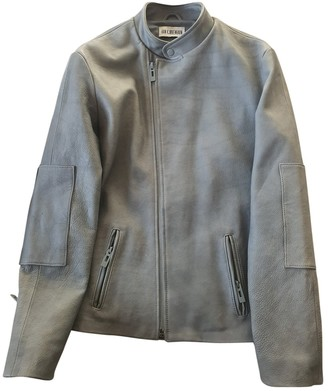 Han Kjobenhavn Grey Leather Jackets