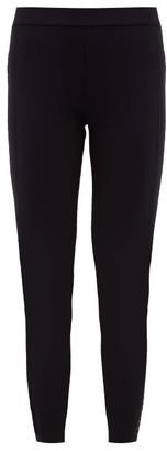 Moncler High-rise Cropped Leggings - Black