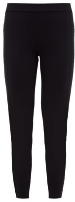 Moncler High-rise Cropped Leggings - Womens - Black
