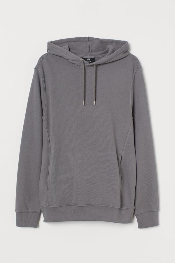 H&M Regular Fit Hoodie - Gray
