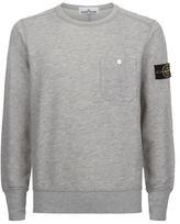 Stone Island Crew Neck Fleece Sweater