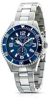 Sector Unisex Watch R3273661035 In Collection 230 With Blue Dial & Silver Colour Stainless Steel Strap
