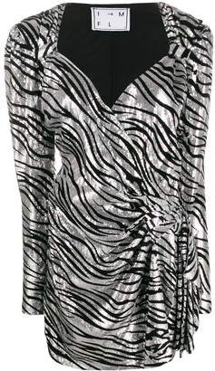 In The Mood For Love Zoe zebra dress