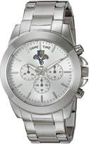 Game Time Women's NHL-TBY-FLA Knock-Out Analog Display Japanese Quartz Silver Watch