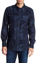William Rast Oak Camo Signature Long Sleeve