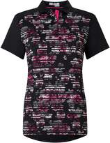 Callaway Stained Floral Polo