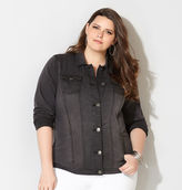 Avenue Denim Jacket (Dark Grey)