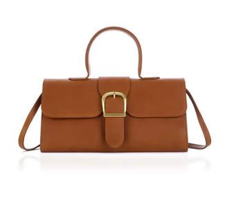 Rylan Buckled Leather Shoulder Bag