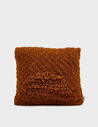 Minna Exclusive Moon Pillow in Terracotta