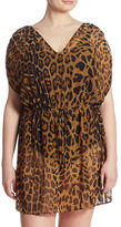 Lauren Ralph Lauren Plus Animal-Printed Pool Tunic