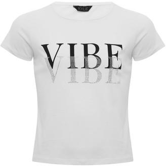 M&Co Teen vibe diamante t-shirt