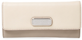 Marc by Marc Jacobs New Q Leather Continental Wallet