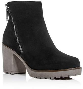 Blondo Women's Skye Waterproof Block-Heel Platform Booties