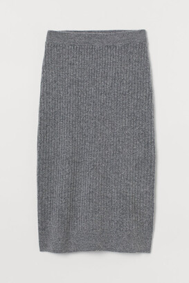 H&M Rib-knit skirt