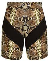 Givenchy Python Print Sweatshorts