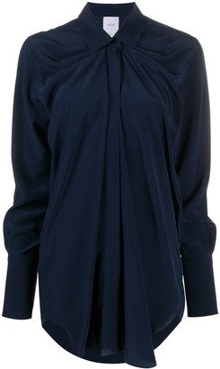 Patou Oversized Silk Shirt