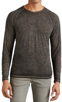 John Varvatos Long Sleeve Raglan Tee