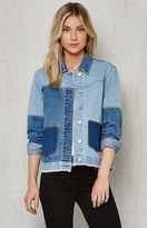 PacSun Pieced Denim Trucker Jacket