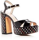 Marc Jacobs Lust Embellished Block Heel Platform Sandals
