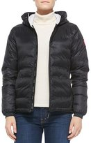 Canada Goose Camp Hooded Puffer Coat, Black